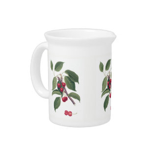 Cherries Pitcher
