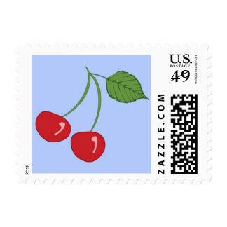 Cherries Postage Stamps