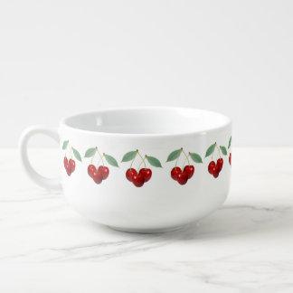 Cherries Soup Mug