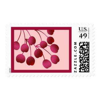 Cherries - stamps
