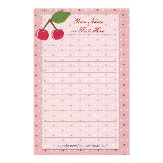 Cherries Stationery