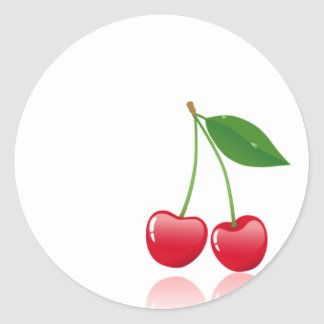 Cherries Stickers