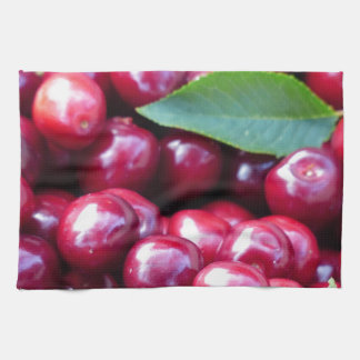 Cherries Tea Towel