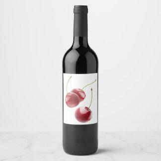 Cherries Wine Label