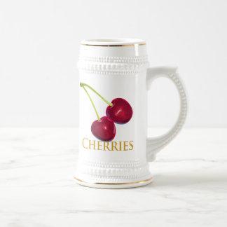 Cherries with Stems Mugs