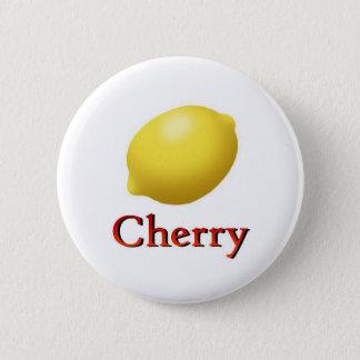 Cherry 6 Cm Round Badge