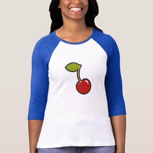 Cherry Baseball Shirt