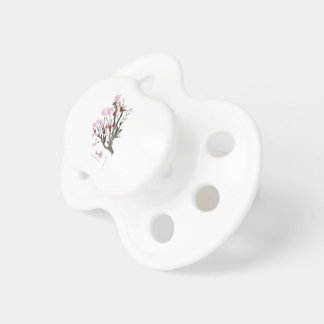 cherry blossom 11 Tony Fernandes Baby Pacifier