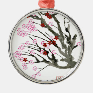 cherry blossom 11 Tony Fernandes Christmas Ornament
