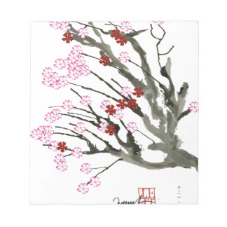 cherry blossom 11 Tony Fernandes Notepad