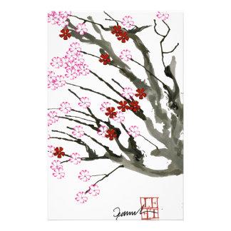 cherry blossom 11 Tony Fernandes Stationery Paper