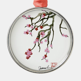 cherry blossom 12 Tony Fernandes Christmas Ornament