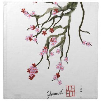 cherry blossom 12 Tony Fernandes Napkin