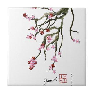 cherry blossom 12 Tony Fernandes Tile