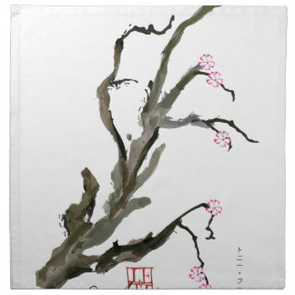 Cherry Blossom 15 Tony Fernandes Napkin