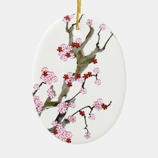 Cherry Blossom 16 Tony Fernandes Christmas Ornament