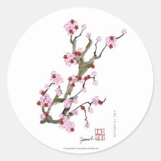 Cherry Blossom 16 Tony Fernandes Round Sticker
