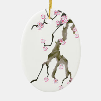 Cherry Blossom 17 Tony Fernandes Christmas Ornament