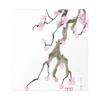 Cherry Blossom 17 Tony Fernandes Notepad