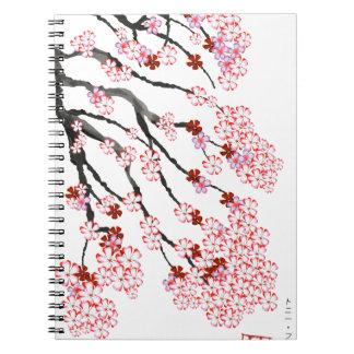 Cherry Blossom 18 Tony Fernandes Note Book