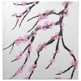 Cherry Blossom 30, Tony Fernandes Napkin