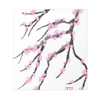 Cherry Blossom 30, Tony Fernandes Notepad