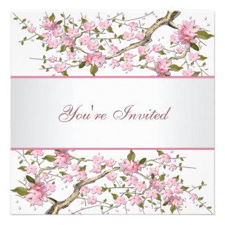 Cherry Blossom All Occasion Party Custom Invitation