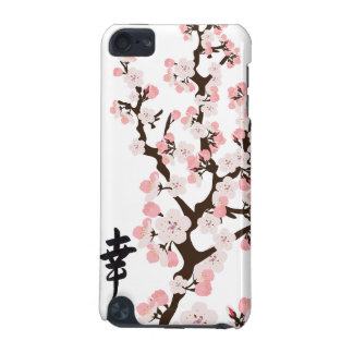 Cherry Blossom and Kanji Hard Shell Case for iPod iPod Touch 5G Covers