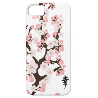 Cherry Blossom and Kanji iPhone 5 Case