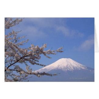 Cherry Blossom and Mt. Fuji 2 Card