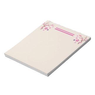 Cherry Blossom Art Notepad