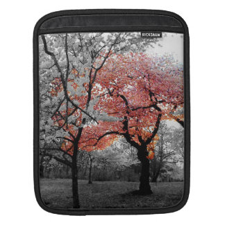 Cherry Blossom B&W iPad Sleeve