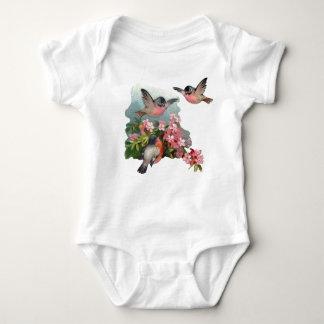 Cherry Blossom Baby Creeper