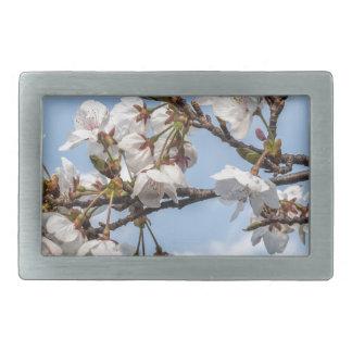 Cherry blossom belt buckles