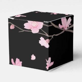 Cherry Blossom - Black Favour Box