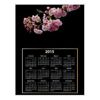 Cherry Blossom Branch 2015 Calendar Postcard