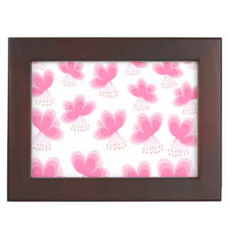 Cherry Blossom Butterfly Pattern Memory Boxes