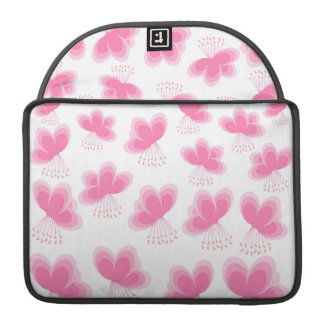 Cherry Blossom Butterfly Pattern Sleeves For MacBook Pro