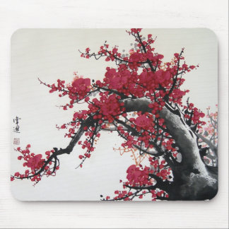 Cherry Blossom - Chinese Painting Mousepad