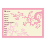 Cherry Blossom - Chubby Business Card Template