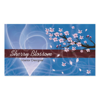 Cherry Blossom design Pack Of Standard Business Cards