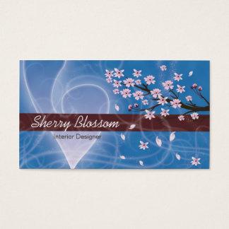 Cherry Blossom design Business Card