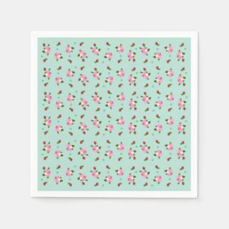 Cherry Blossom Disposable Serviettes