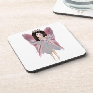 Cherry Blossom Fairy Drink Coasters