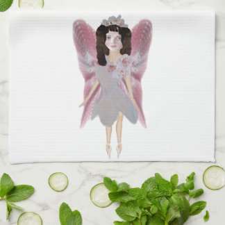 Cherry Blossom Fairy Kitchen Towels
