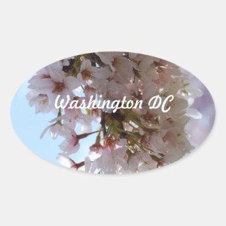Cherry Blossom Festival Oval Stickers