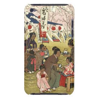 Cherry Blossom Festival - Tokyo 1914 iPod Case-Mate Cases