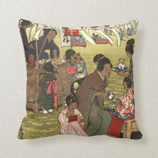 Cherry Blossom Festival - Tokyo 1914 Cushion