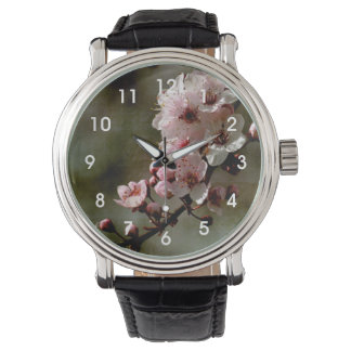 Cherry Blossom Floral Watch