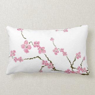 Cherry blossom flowers American MoJo Pillow